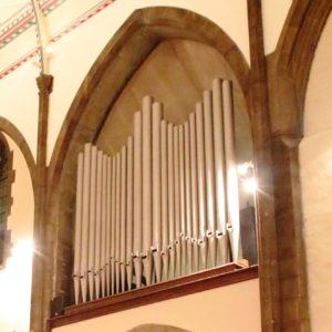 St Luke's organ pipes